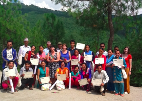 Team Malerie in Nepal