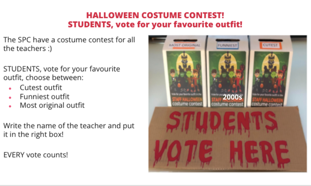Costume competition